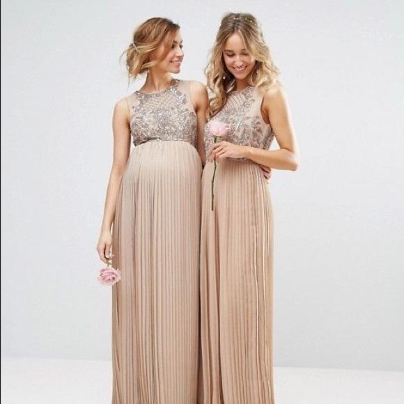 793c225787eb7 Maya Dresses | Asos Maternity Maxi Dress Nwt Size 6 | Poshmark